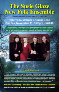 We're Back at McCabe's November 11